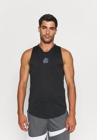 Under Armour - CURRY PERFORMANCE TANK - Top - black - 0