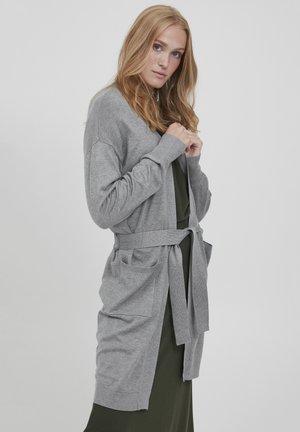PIMBA - Cardigan - mid grey melange