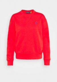Sweatshirt - bright hibiscus