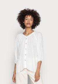 Esprit - BLOUSE - Blouse - off white - 0