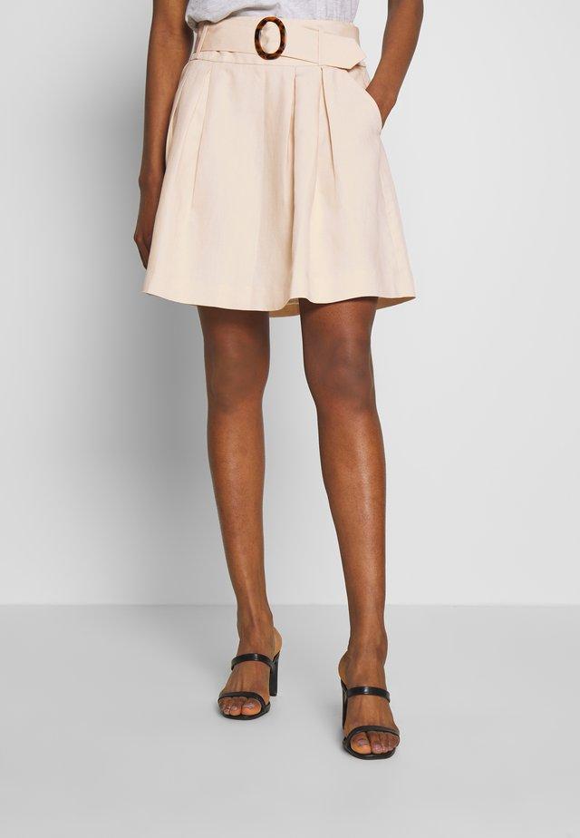 EHILDA - A-snit nederdel/ A-formede nederdele - lin