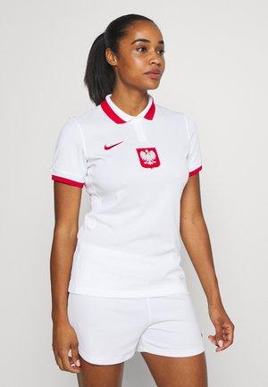 POLEN - Article de supporter - white/sport red