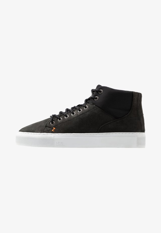 MURRAYFIELD - Sneakers high - black/white
