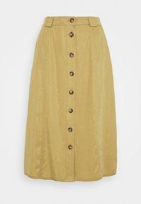 Object - OBJCAT SKIRT - A-line skirt - khaki - 3