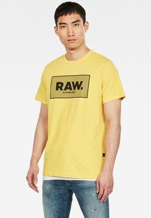 Print T-shirt - lemon