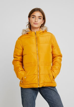 PADDED JACKET - Winter jacket - ochre