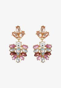 Pieces - PCBEL EARRINGS - Örhänge - gold-coloured/pink - 1