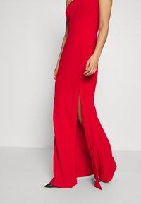 WAL G. - ONE SHOULDER MAXI DRESS - Vestido de fiesta - red - 3