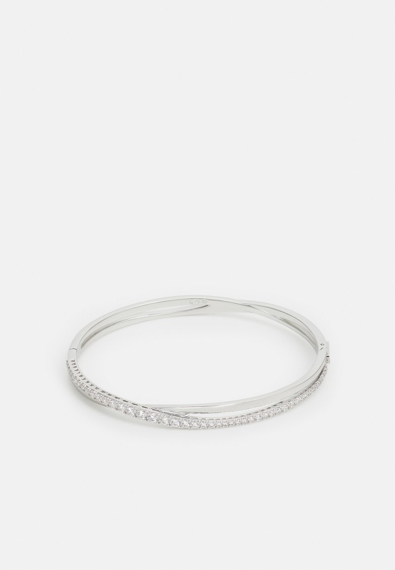 Swarovski - TWIST BANGLE ROWS  - Bracelet - white