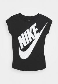 Nike Sportswear - GIRLS JUMBO FUTURA TEE - T-shirt print - black - 0