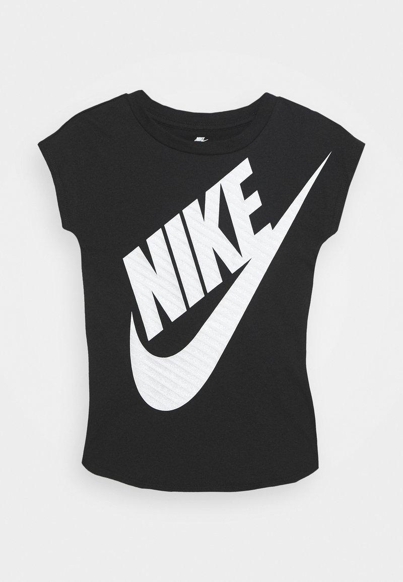 Nike Sportswear - GIRLS JUMBO FUTURA TEE - T-shirt print - black