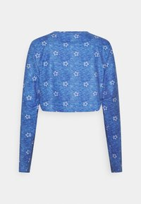 Loungeable - STAR CROPPED LONG SLEEVE WITH LEGGINGS - Pyjamas - blue - 2