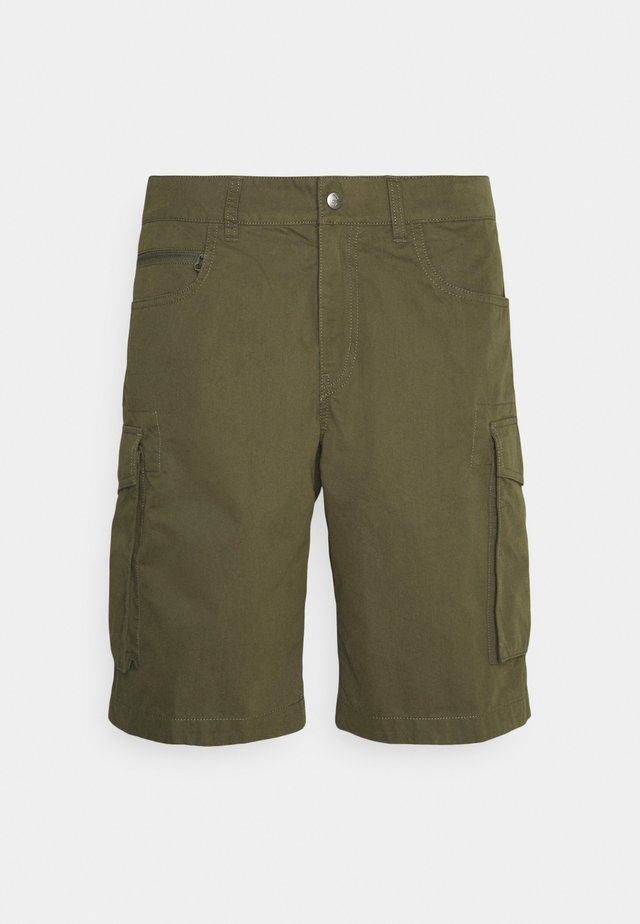 CARGO SHORTS - Sports shorts - olive night