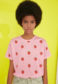 Trendyol - Print T-shirt - pink - 0