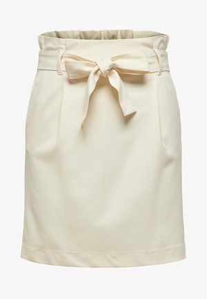 ROCK PAPER - Mini skirt - whitecap gray