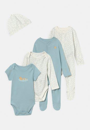 BABY STARTER SET - Print T-shirt - light blue
