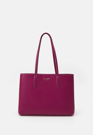 LARGE TOTE SET - Shopping bag - deep raspberry