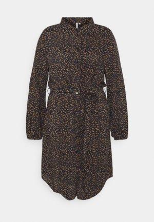 CARLOLLIEMMA LS SHIRT DRESS - Sukienka letnia - peacoat