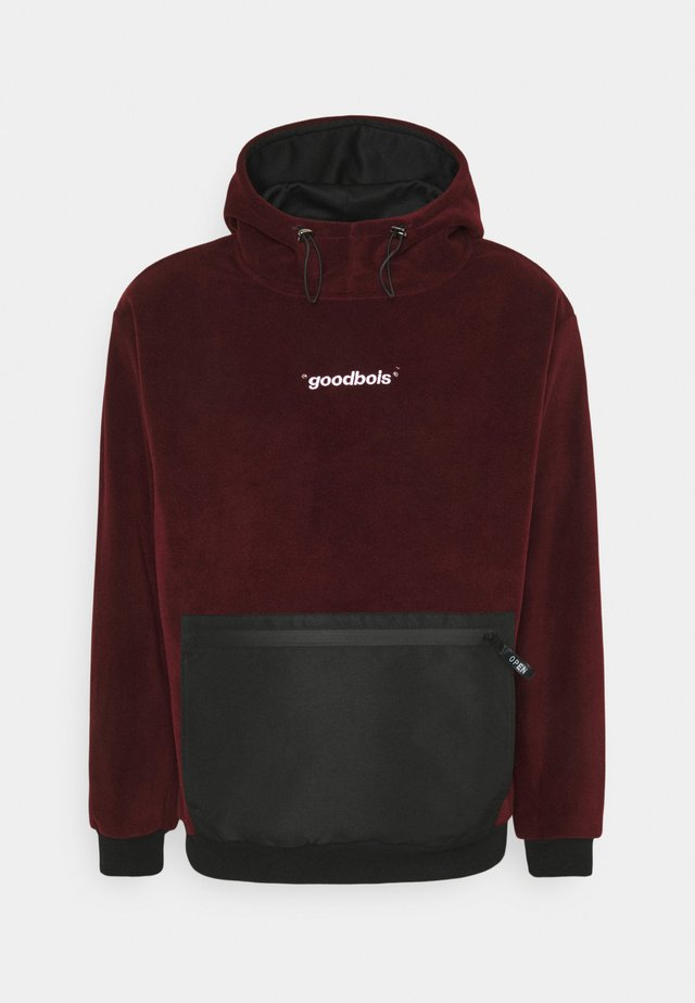 CLOUD HOODY - Sweat à capuche - burgundy