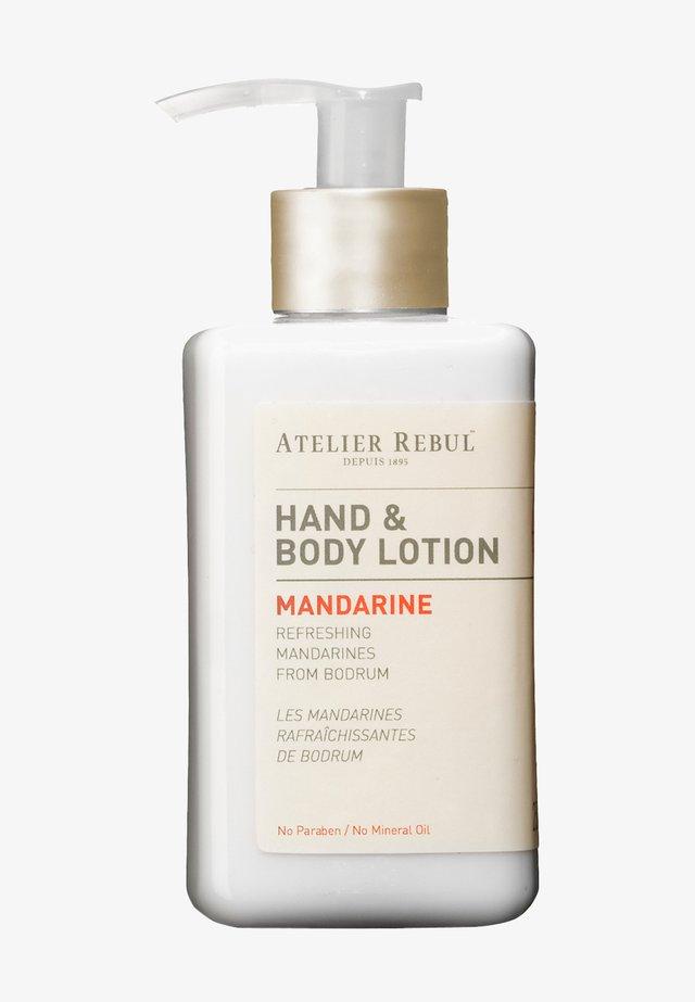 MANDARINE HAND & BODY LOTION 250ML - Hand cream - -