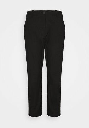 DEMI PANT - Trousers - black