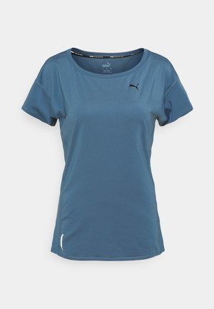 TRAIN FAVORITE TEE - T-shirts - china blue