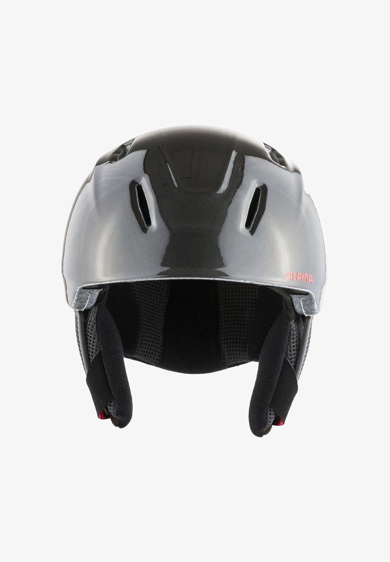 Alpina - CARAT LX - Helmet - charcoal-red