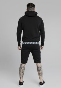 SIKSILK - EXHIBIT ZIP THROUGH HOODIE - Cardigan - black - 2