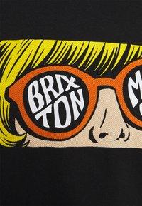 Brixton - GLARE - T-shirt imprimé - black - 2