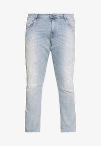 Replay Plus - Jeans Slim Fit - hellblau destroyed - 4