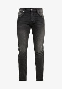 Nudie Jeans - GRIM TIM - Vaqueros slim fit - concrete black - 4