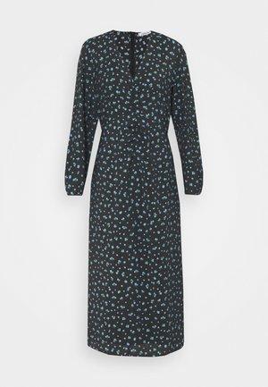 NORA DRESS - Day dress - schwarz/blau