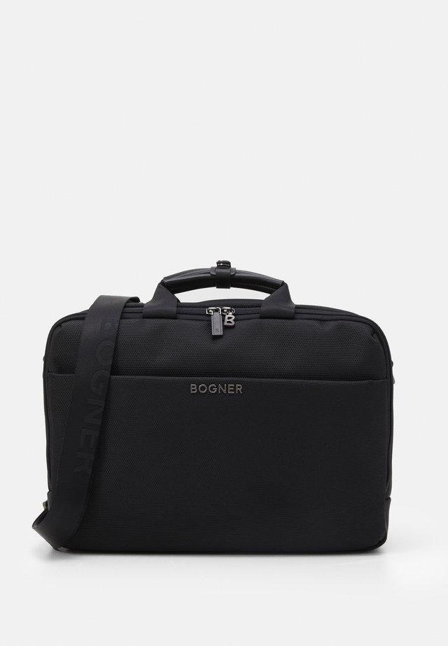 KEYSTONE MATTIS BRIEFBAG UNISEX - Taška na laptop - black