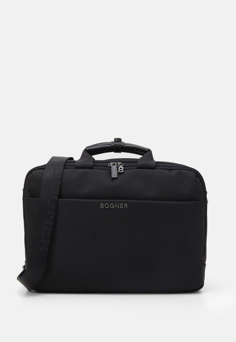 Bogner - KEYSTONE MATTIS BRIEFBAG UNISEX - Laptop bag - black