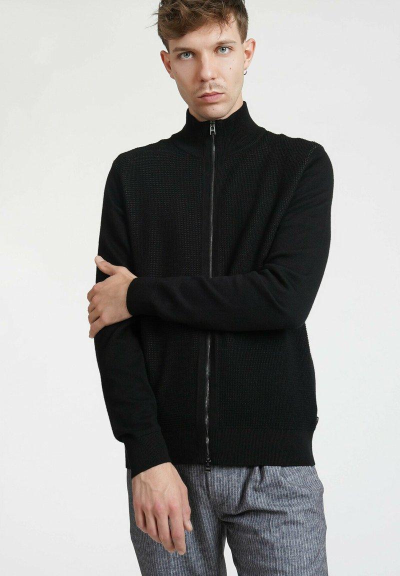 BOSS - MADORI - Cardigan - black