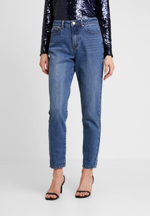 VINTAGE MOM IN COCOA - Jean boyfriend - mid denim