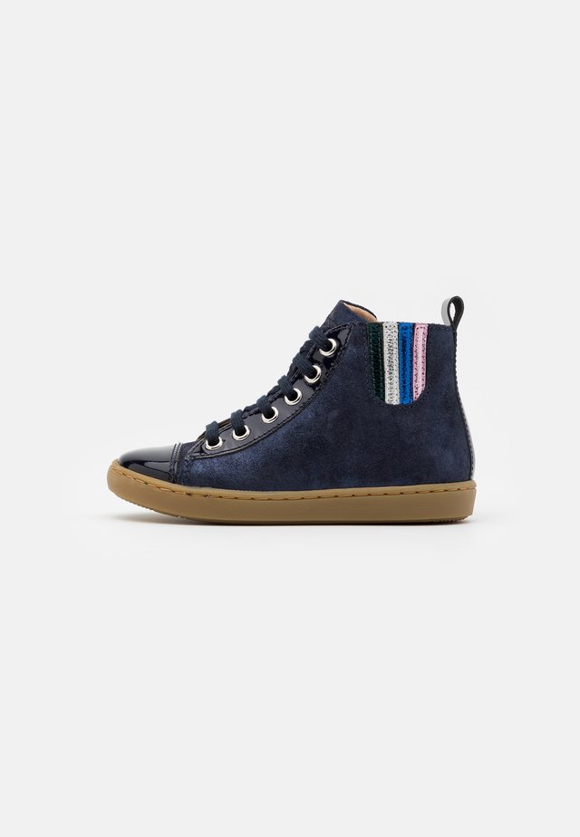 PLAY JODLACE - Sneakers alte - navy