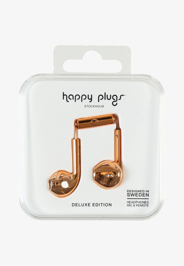 PLUS DELUXE - Headphones - rose gold