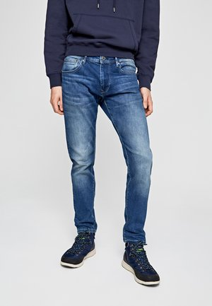 STANLEY - Vaqueros slim fit - blue