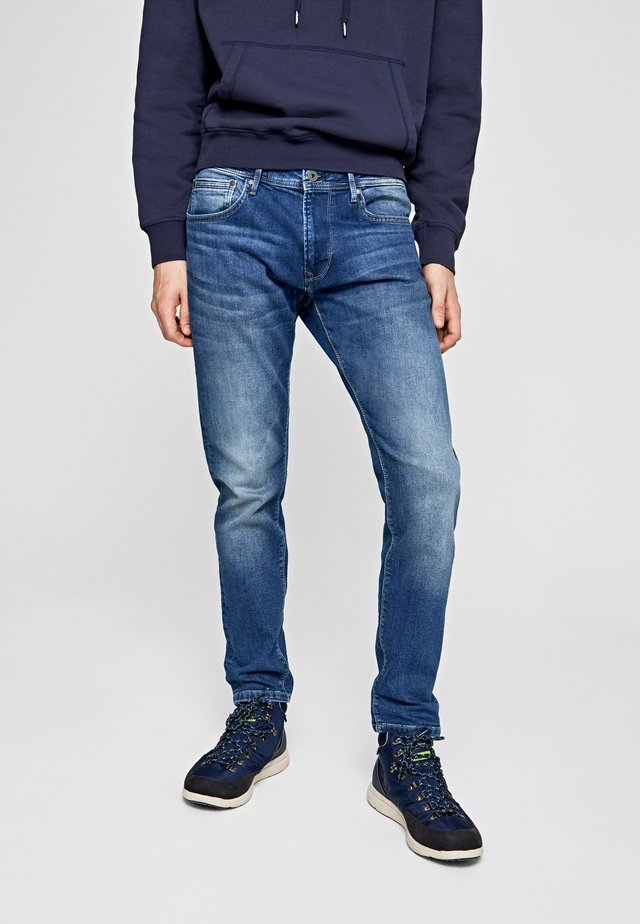 STANLEY - Jeans slim fit - blue