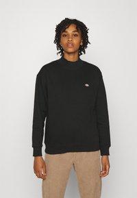 Dickies - OAKPORT HIGH NECK - Sweatshirt - black - 0