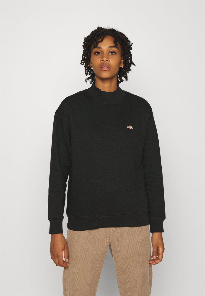 Dickies - OAKPORT HIGH NECK - Sweatshirt - black