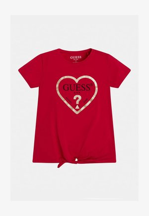 JUNIOR  - T-shirt print - rose