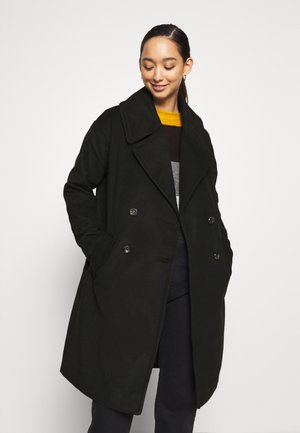JDYSTORM BIG COLLAR JACKET  - Kåpe / frakk - black