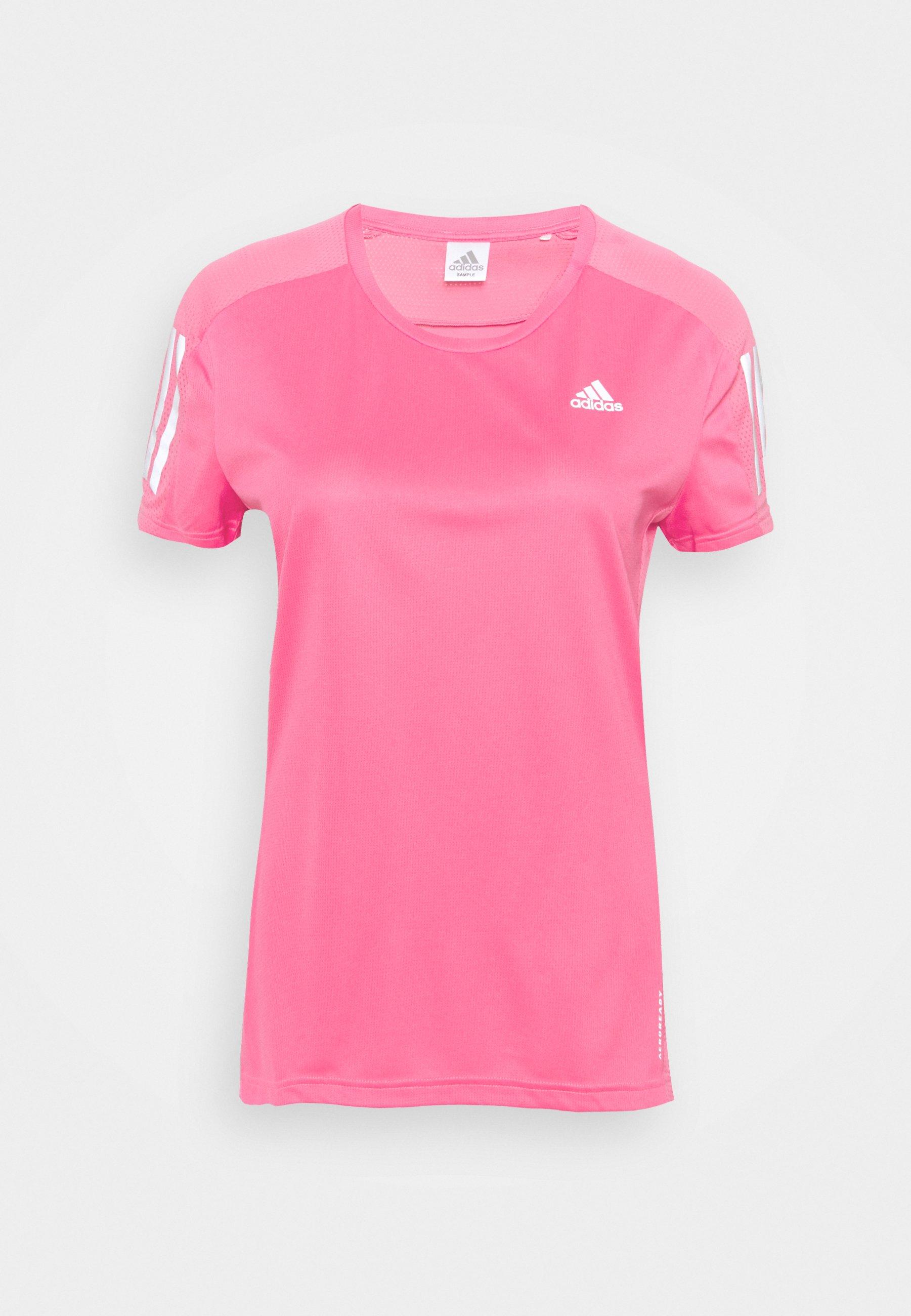 Women OWN THE RUN TEE - Print T-shirt