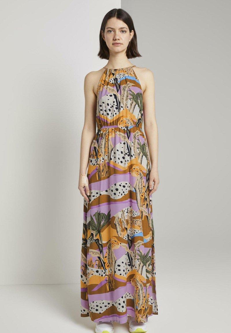 TOM TAILOR DENIM - Maxi dress - tropical print