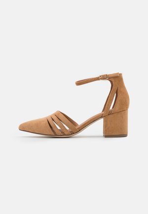 BIADIVIVED FASHION WIDE FIT - Classic heels - camel