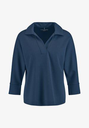 Polo shirt - azur