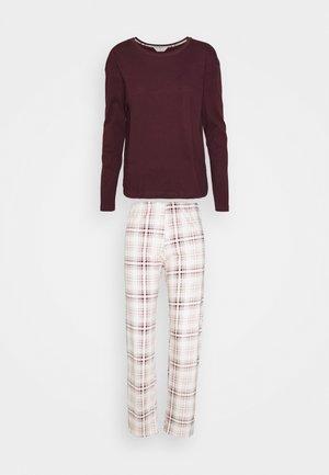 CHECK - Pyjamas - purple