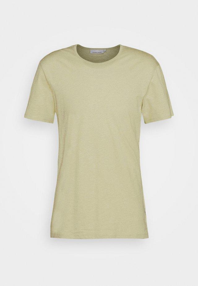 GRANT CREW NECK - T-shirt basique - light green
